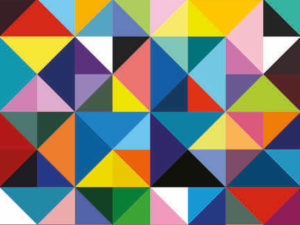 Get lost in colors with these prism table placemats. Great kitchen placemats to make your dinner table stand out.