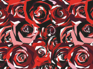 Buy yourself roses with these table placemats. Great kitchen placemats to make your dinner table stand out.