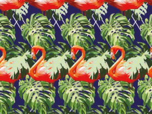 Get ready for the jungle flamingo attack with these table placemats. Great kitchen placemats to make your dinner table stand out.