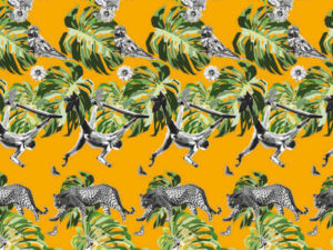 Get ready for the jungle attack with these table placemats. Great kitchen placemats to make your dinner table stand out.